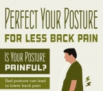 Perfect Your Posture for Less Back Pain [INFOGRAPHIC]